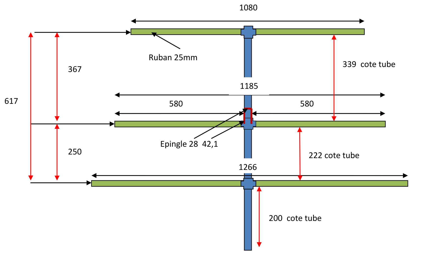 Tube Wiring Diagram Knob Wire Diagrams 339 Construire Son Antenne Yagi Pour La Recherche De Balise Screamer