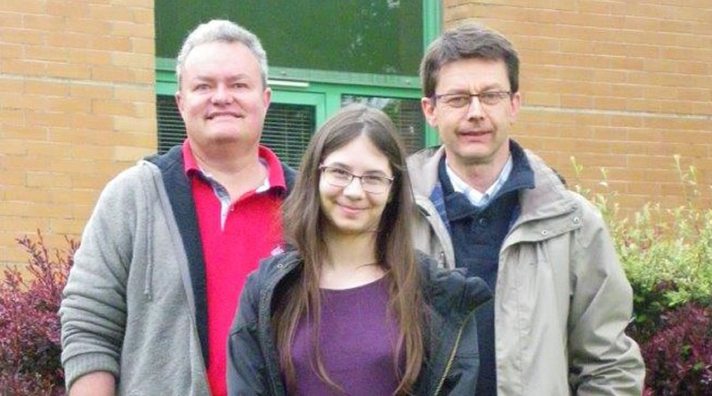 Nouveaux opérateurs du service amateur Emmanuel, Laurent et Floriane - head