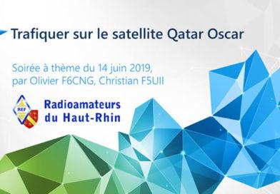 Soirée à thème : Trafiquer sur le satellite QO 100
