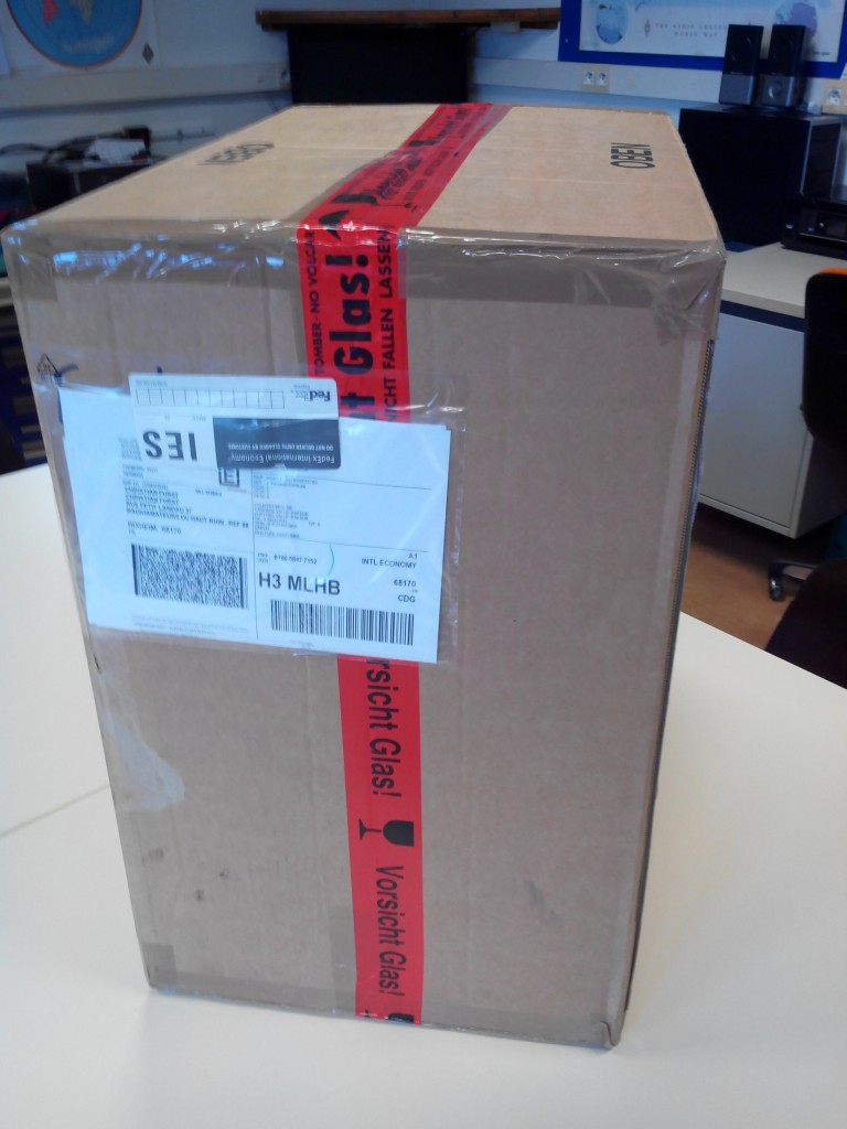 Colis livré par Fedex