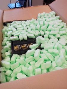 Emballage soigné du PC Ankermann