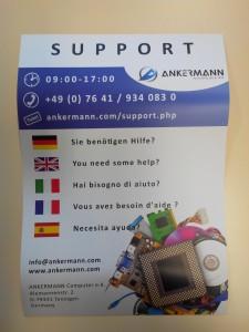Support de Ankermann