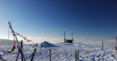 Le relais du Petit Ballon en plein hiver