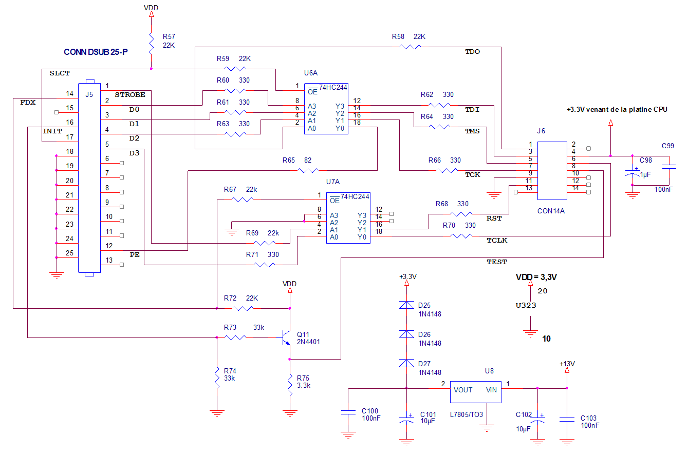 Fig.5 Programmateur du MSP430.