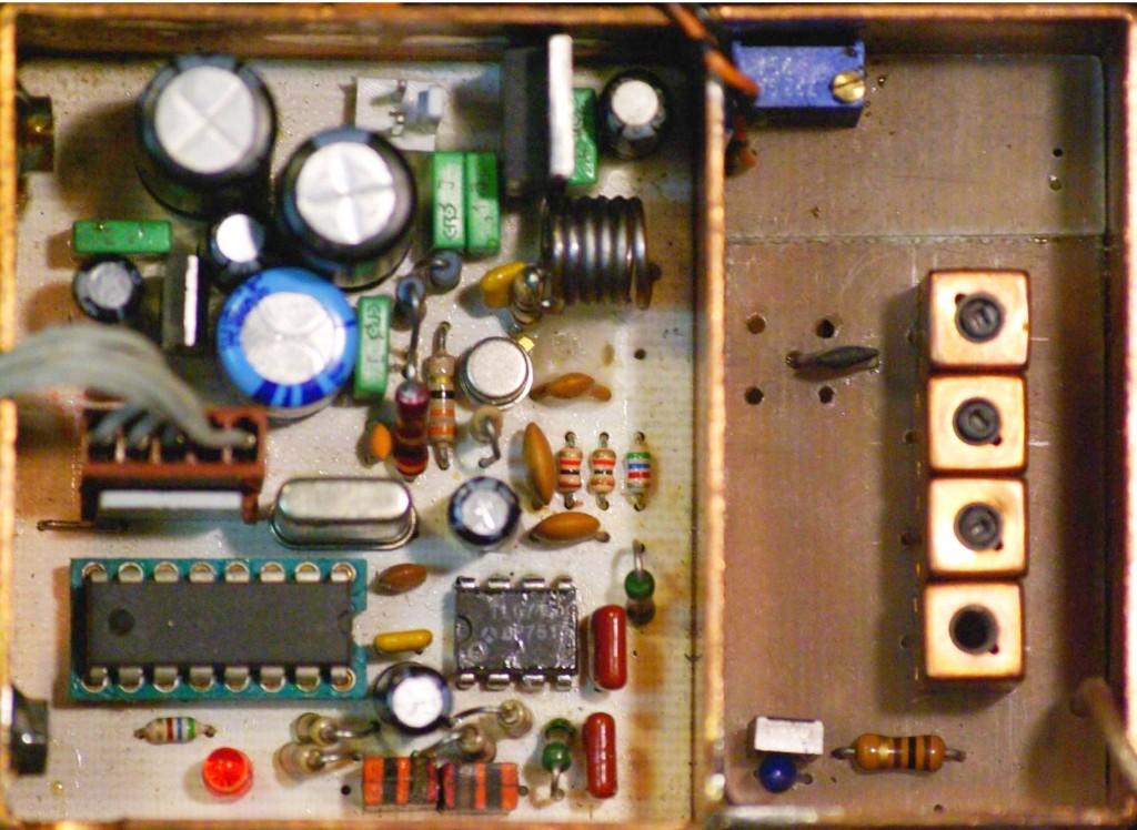 Vue du VCO / PLL avec son filtre