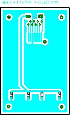 Fig.9 - Câblage du connecteur LCD