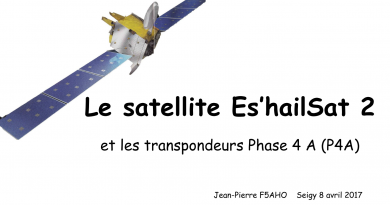 Présentation du satellite Es'Hail 2 par F5AHO