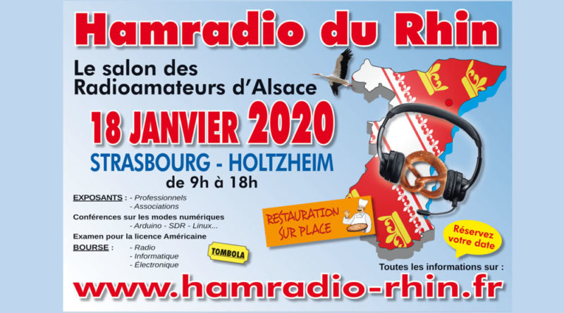 Le salon HamRadio du Rhin